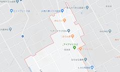 まんのう教室地図